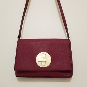 Kate Spade Red Sally Newbury Lane Crossbody Bag